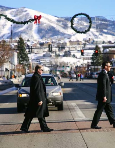 downtown steamboat springs wedding
