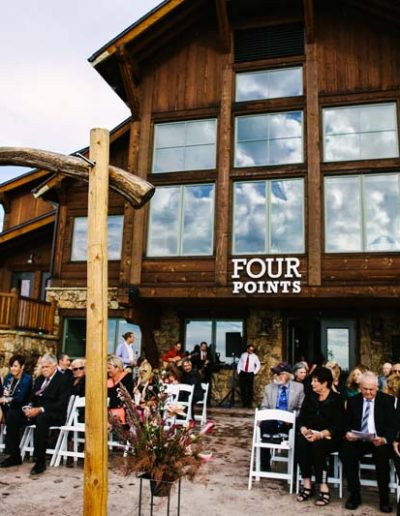 four points lodge steamboat springs colorado wedding ceremony