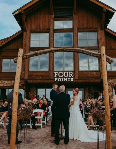 wedding four points lodge steamboat ski resort