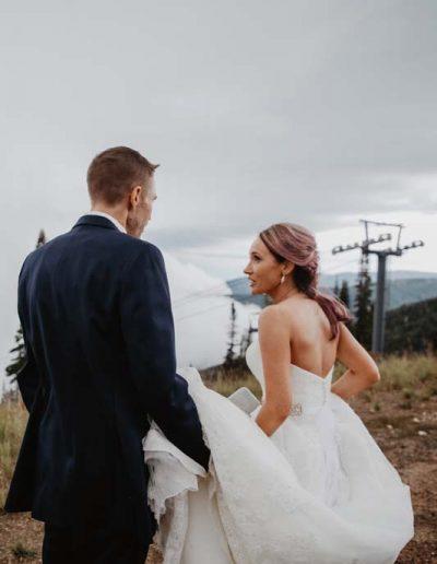 steamboat ski resort wedding ceremony